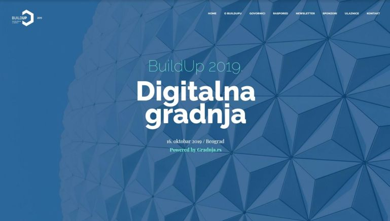 Još 7 dana do konferencije BuildUp 2019: Digitalna gradnja!